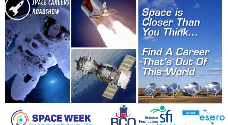 ESERO Space Careers Roadshow – Tech Week 2021